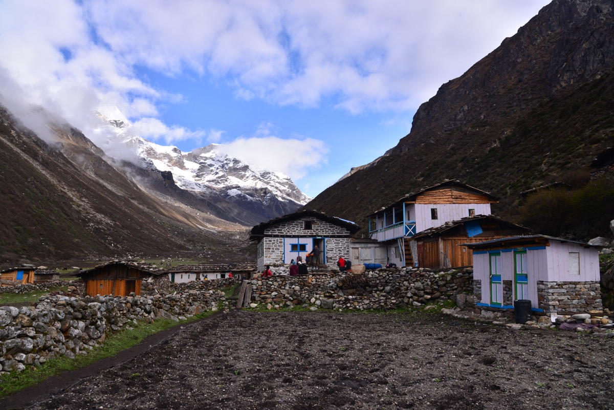 Khambachen Village Kanchenjunga North Base Camp