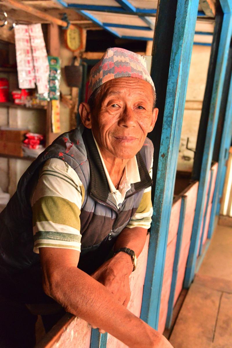 locals in kanchenjunga trek