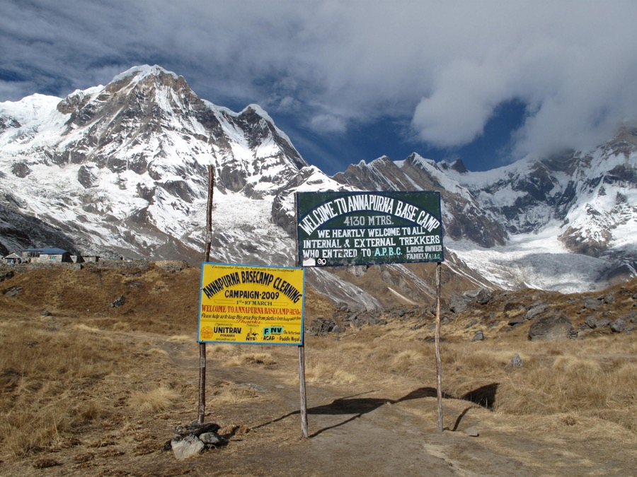 annapurna trek best time
