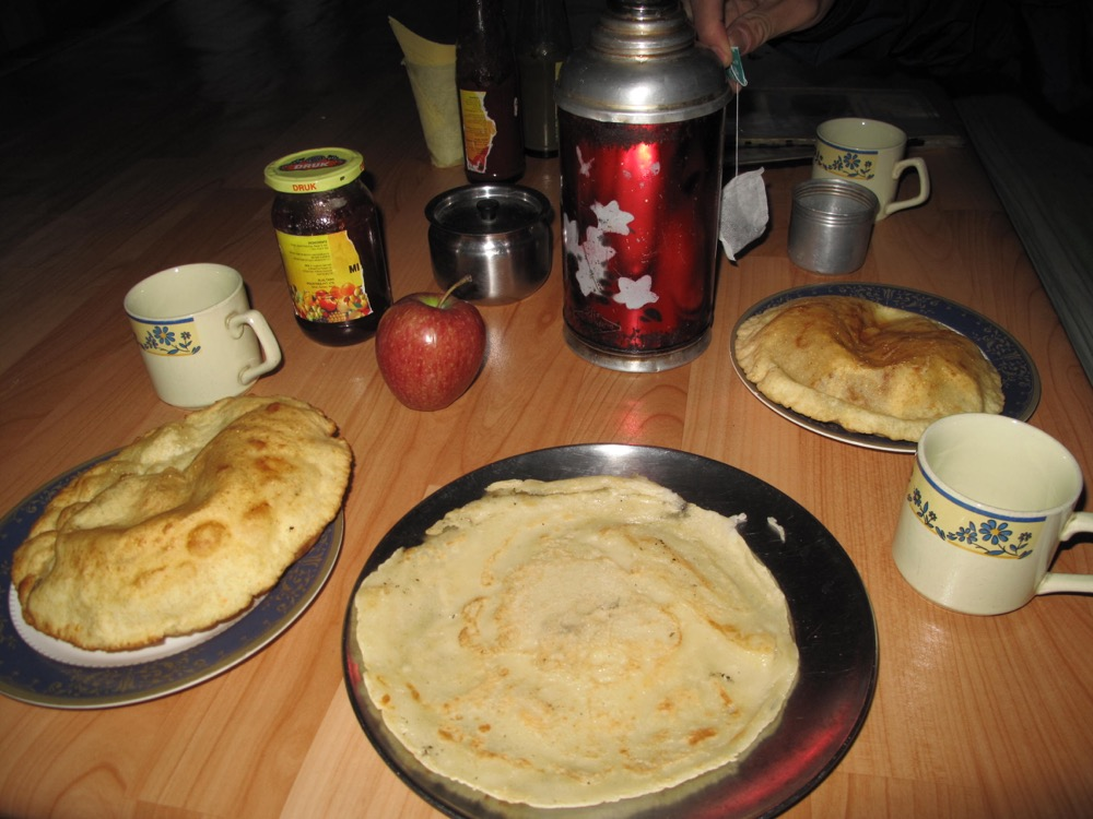 annapurna base camp trek food