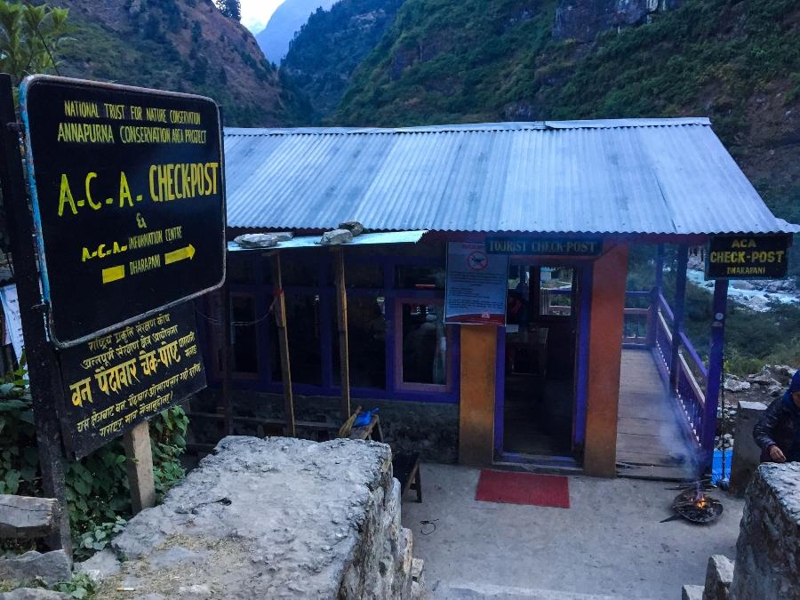 annapurna conservation checkpost