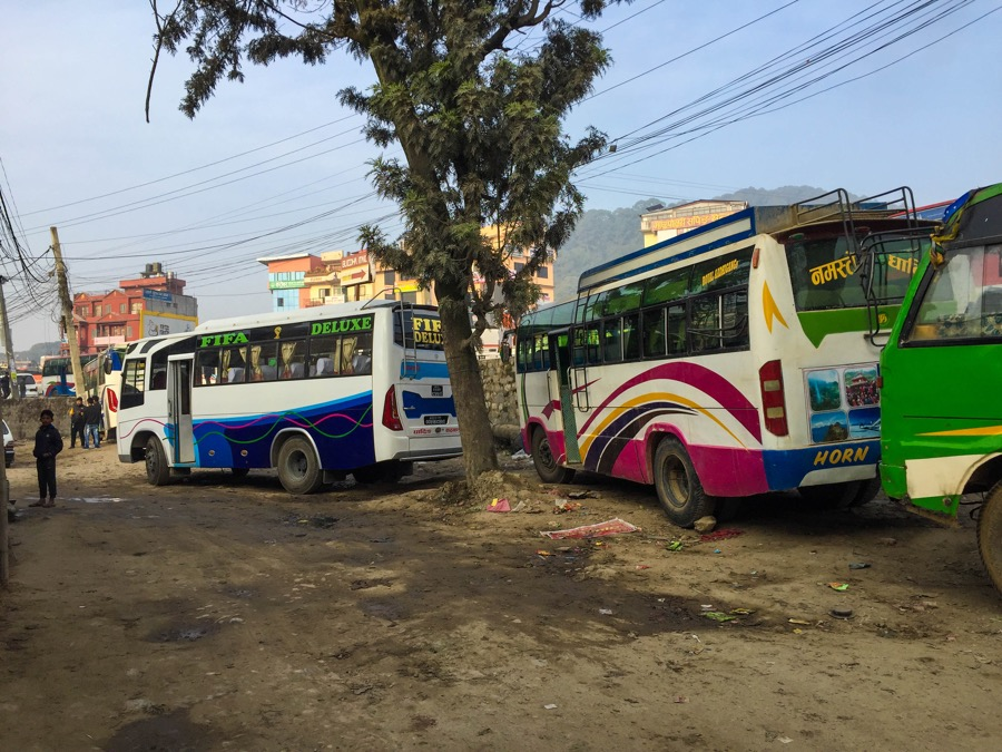 Kathmandu Arughat Local Bus