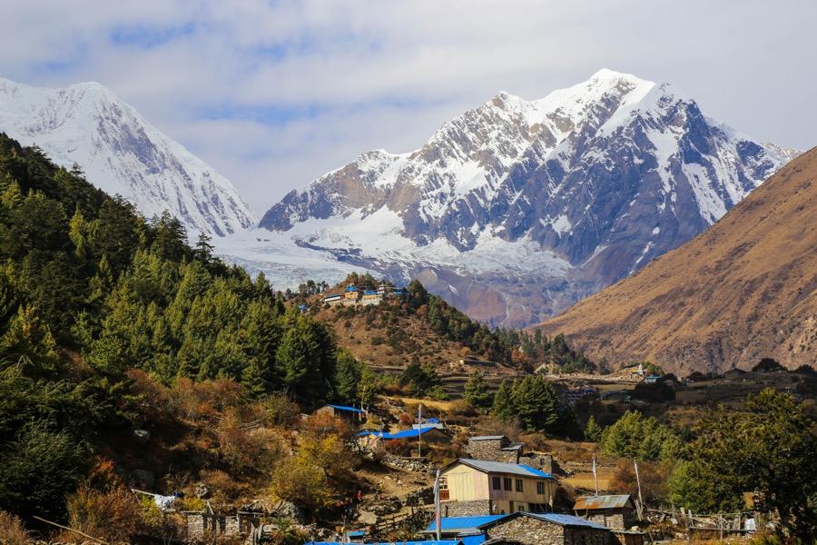 lho village manaslu