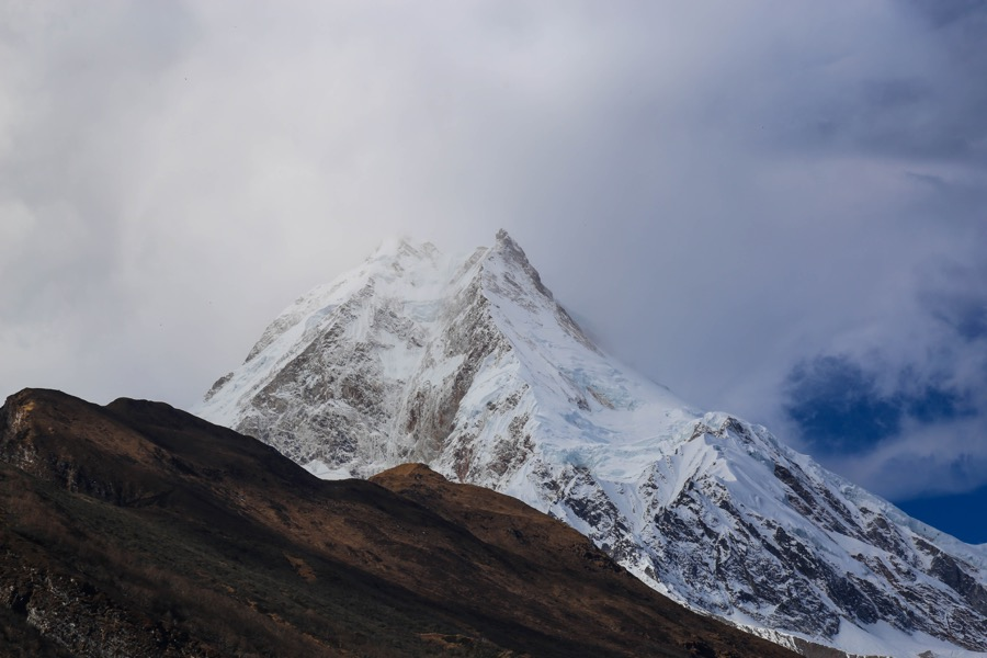 manaslu circuit from lho