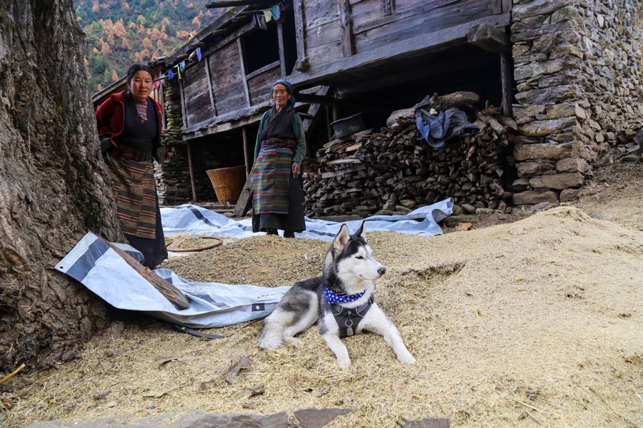 manaslu local village