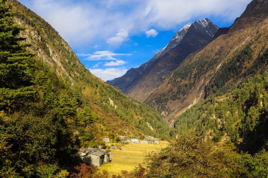 manaslu valley