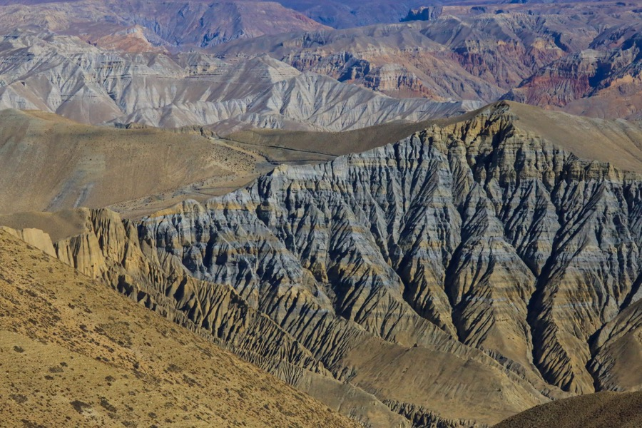 rock formation upper mustang