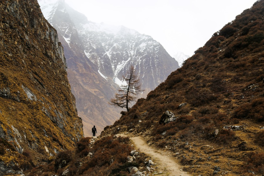 way to pungen monastery