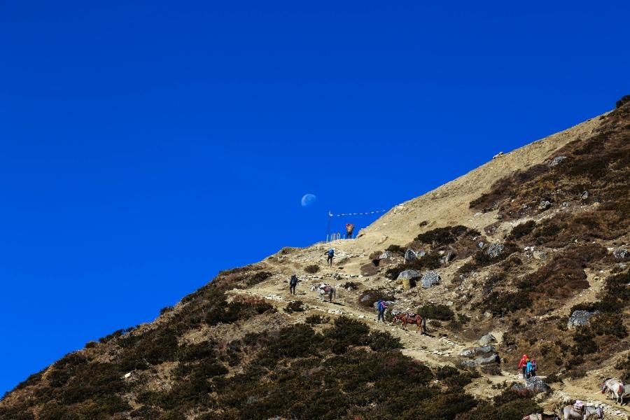uphill to dharmashala