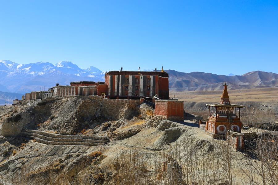 tsarang palace upper mustang