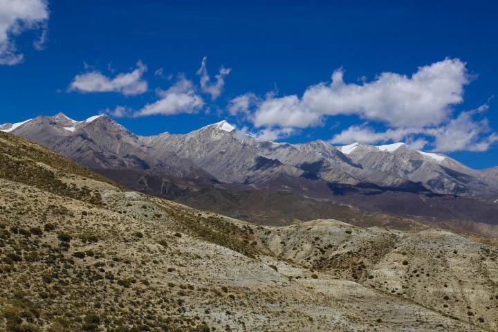 upper mustang region nepal