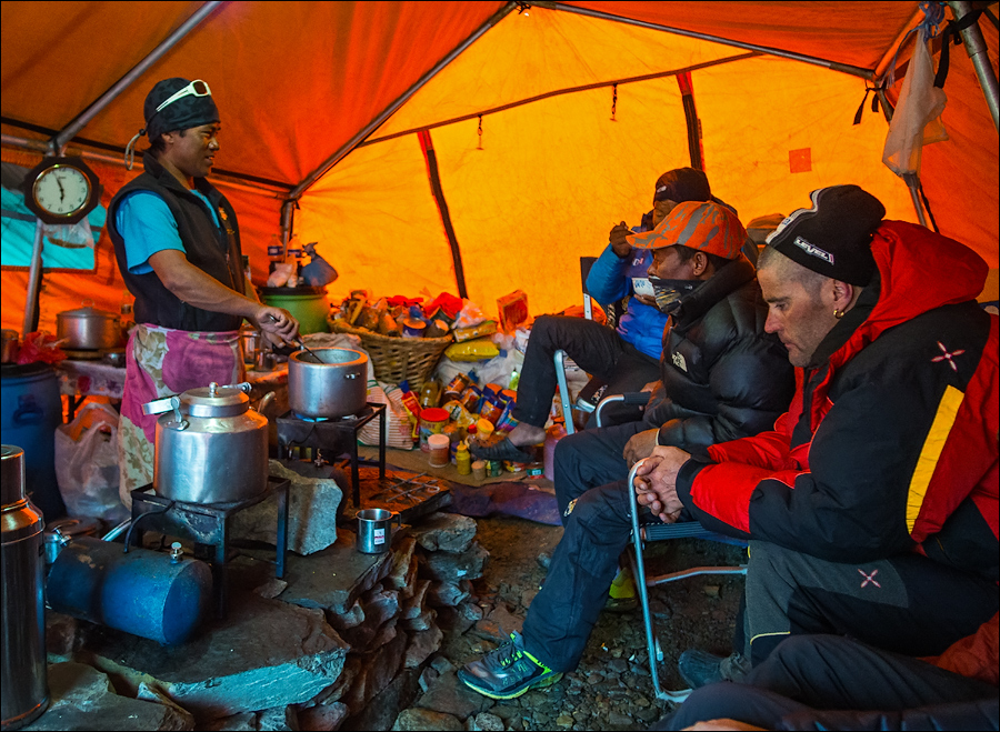 cook for dhaulagiri trek
