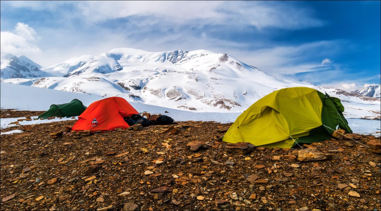 dhaulagiri circuit trek camping