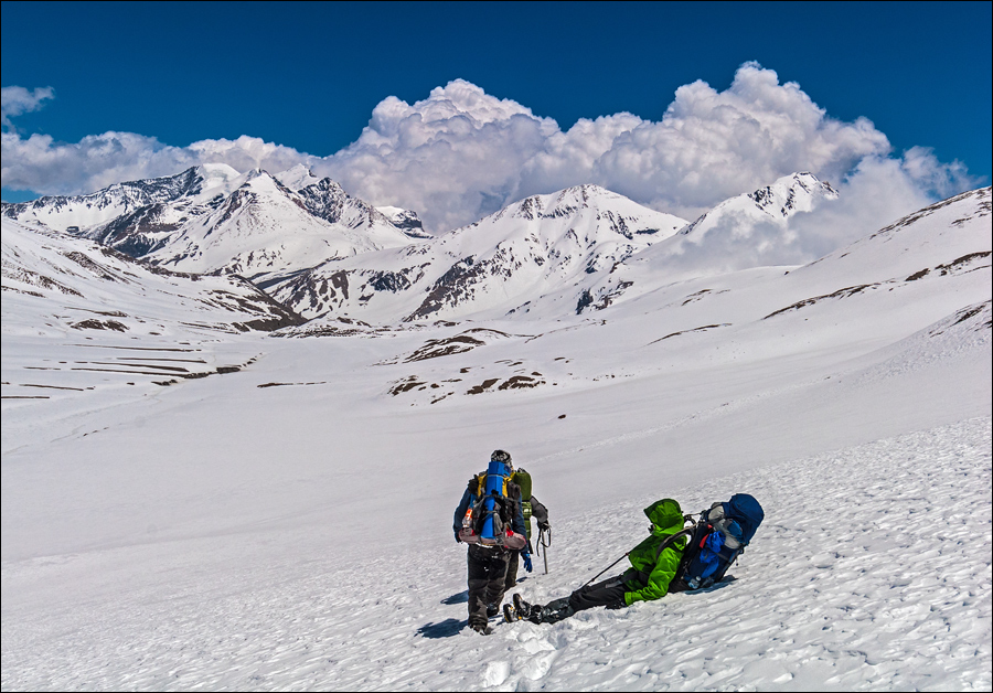 dhaulagiri trek difficulty