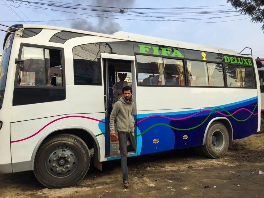 kathmandu pokhara local bus