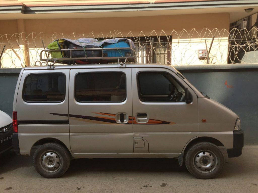 mini van kathmandu