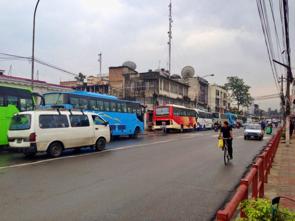 kathmandu pokhara tourist bus bus station