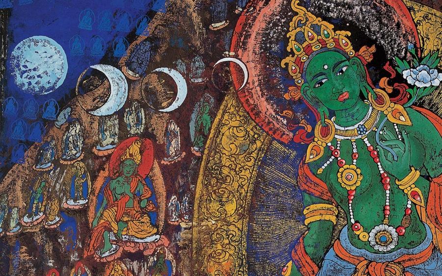 thangka painting nepal