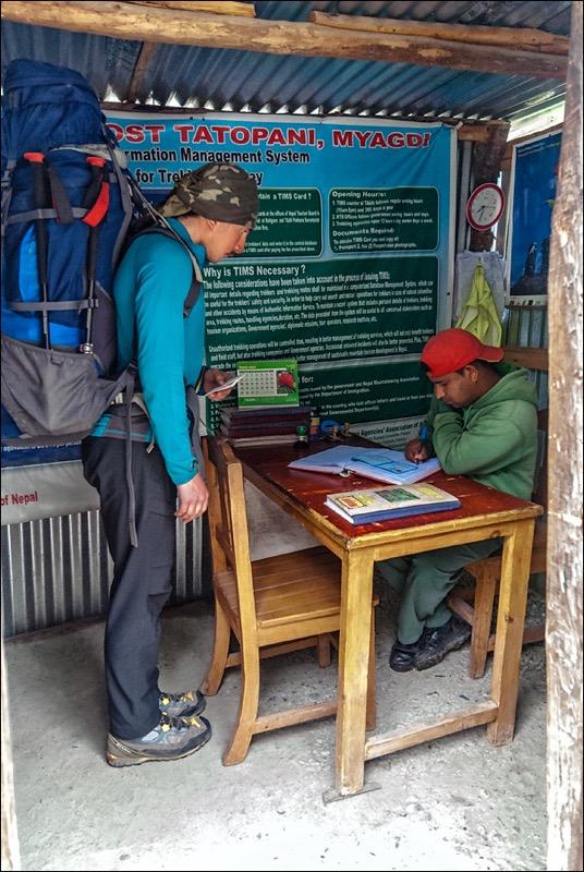 ghorepani poon hill trek permit