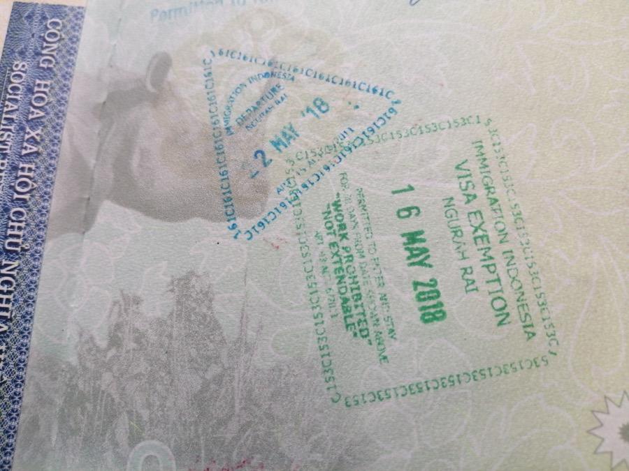 indonesia tourist visa for nepali