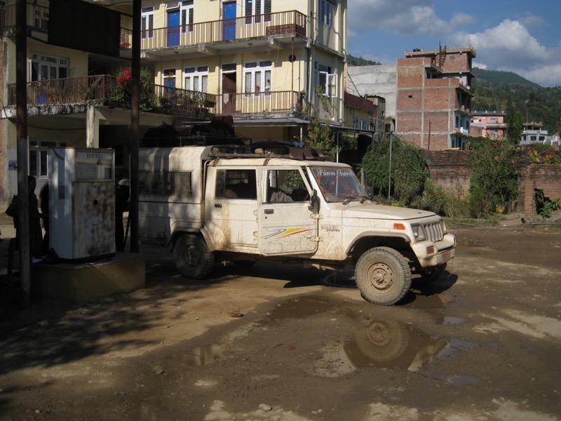 kathmandu soti khola private jeep
