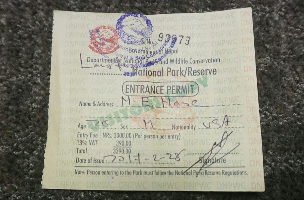 langtang valley trek permit